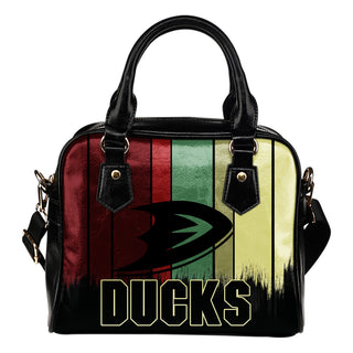 Vintage Silhouette Anaheim Ducks Purse Shoulder Handbag