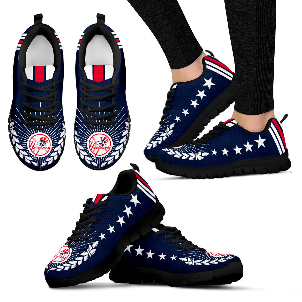 Line Of Stars Victory New York Yankees Sneakers