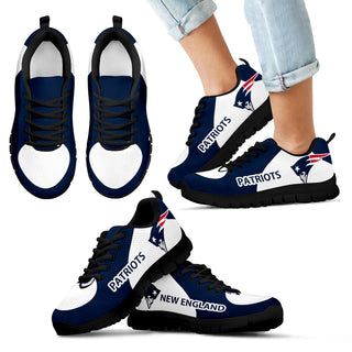 New England Patriots Top Logo Sneakers