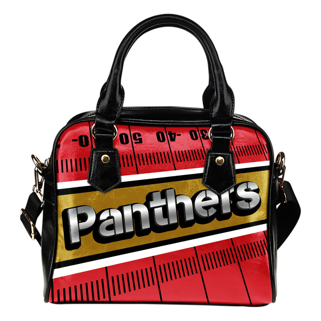 Florida Panthers Silver Name Colorful Shoulder Handbags
