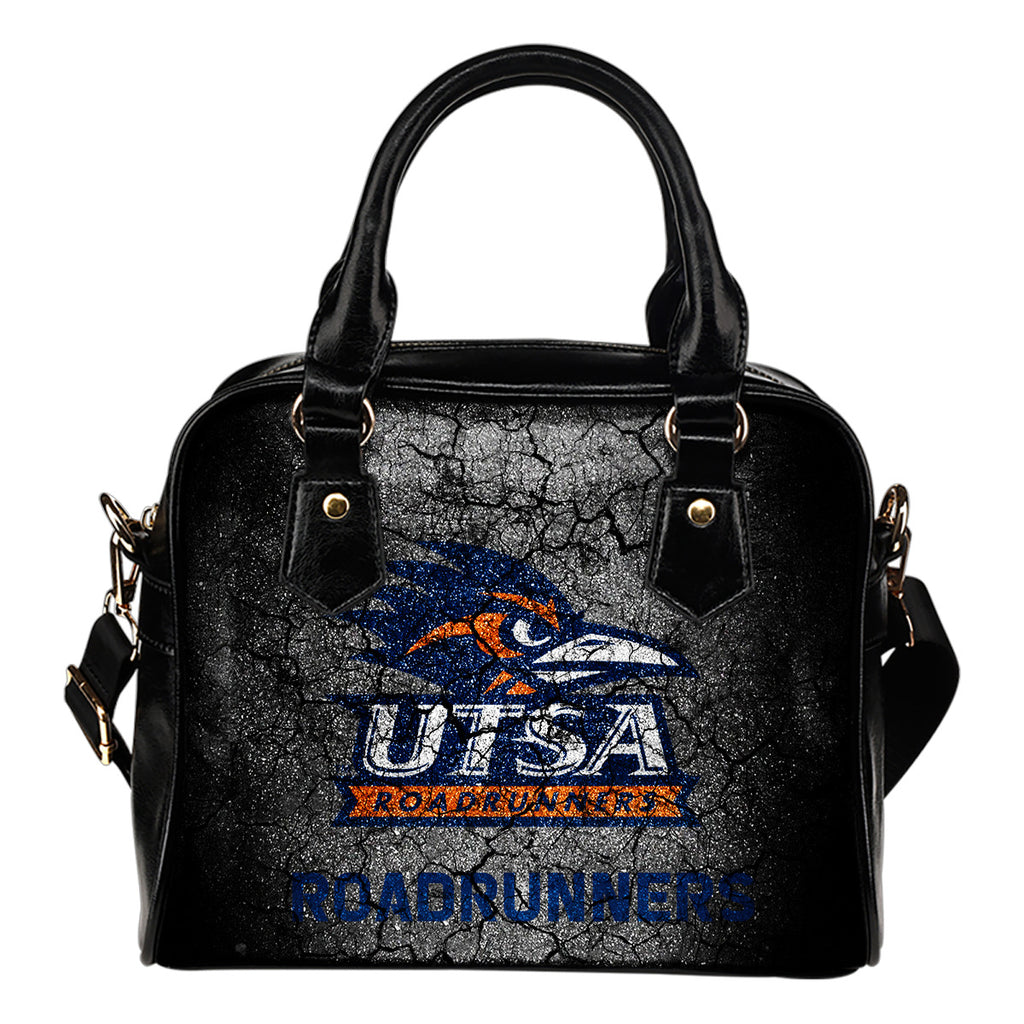 Wall Break UTSA Roadrunners Shoulder Handbags Women Purse