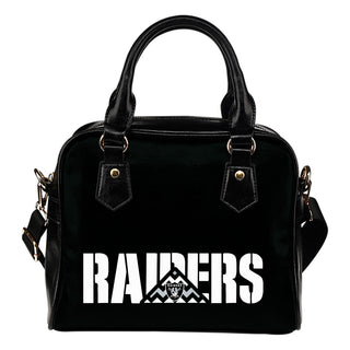 Oakland Raiders Mass Triangle Shoulder Handbags