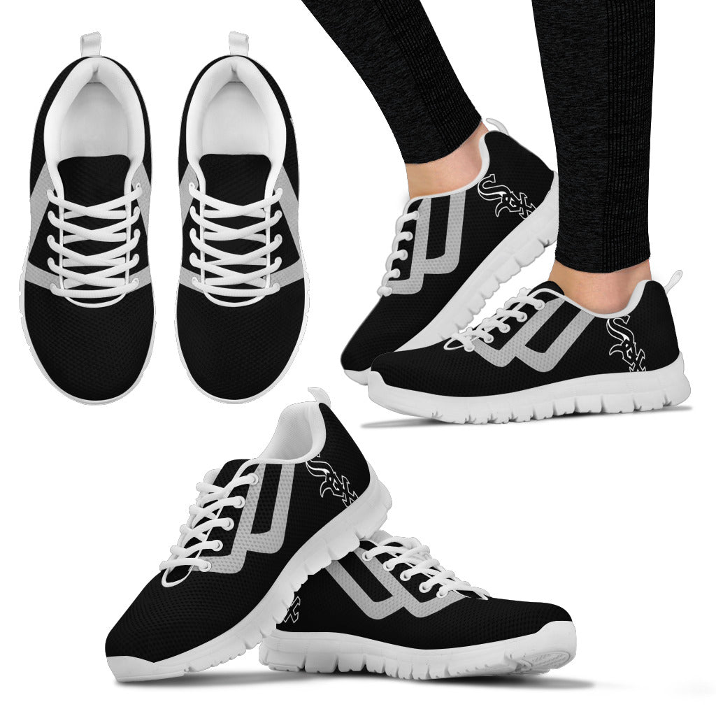 Line Bottom Straight Chicago White Sox Sneakers