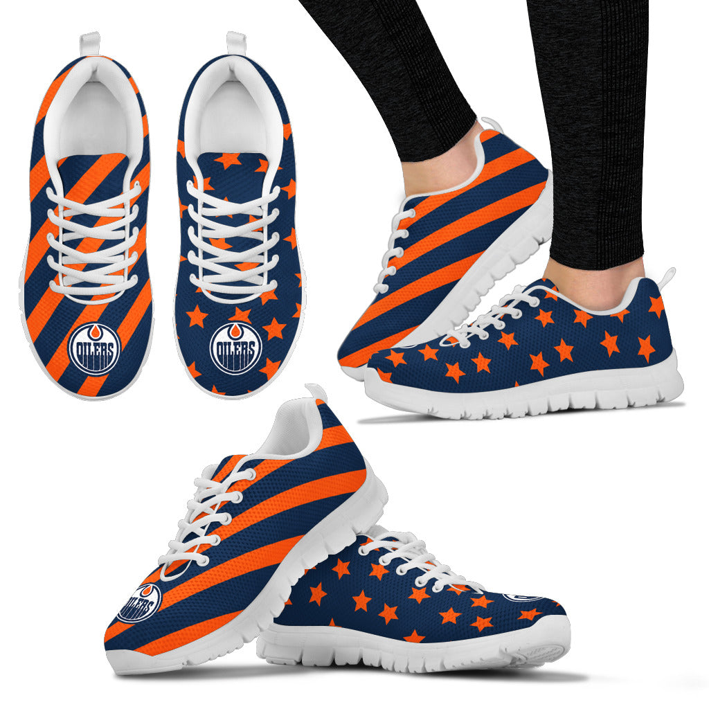 Splendid Star Mix Edge Fabulous Edmonton Oilers Sneakers