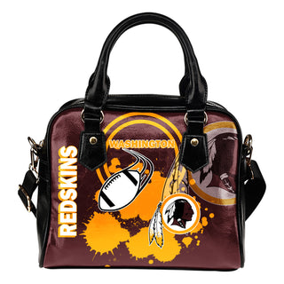 The Victory Washington Redskins Shoulder Handbags