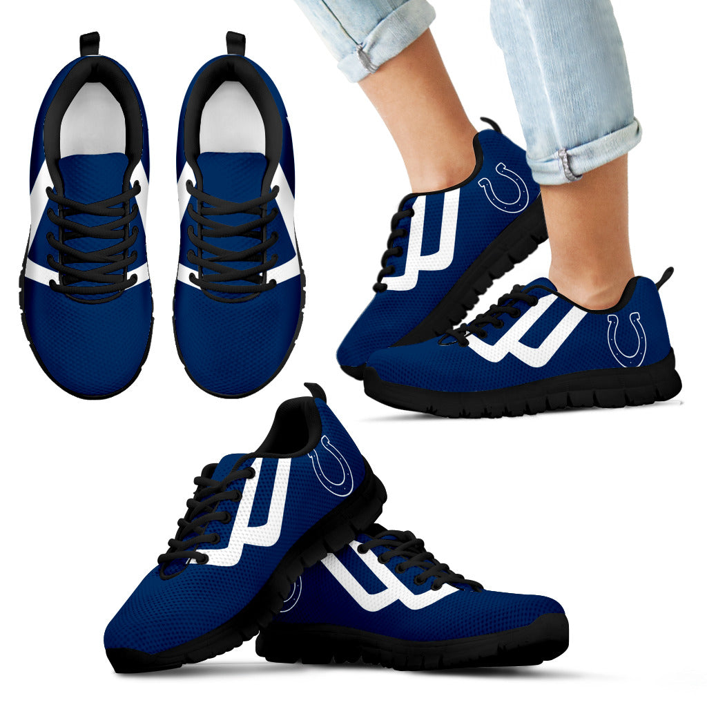 Line Bottom Straight Indianapolis Colts Sneakers