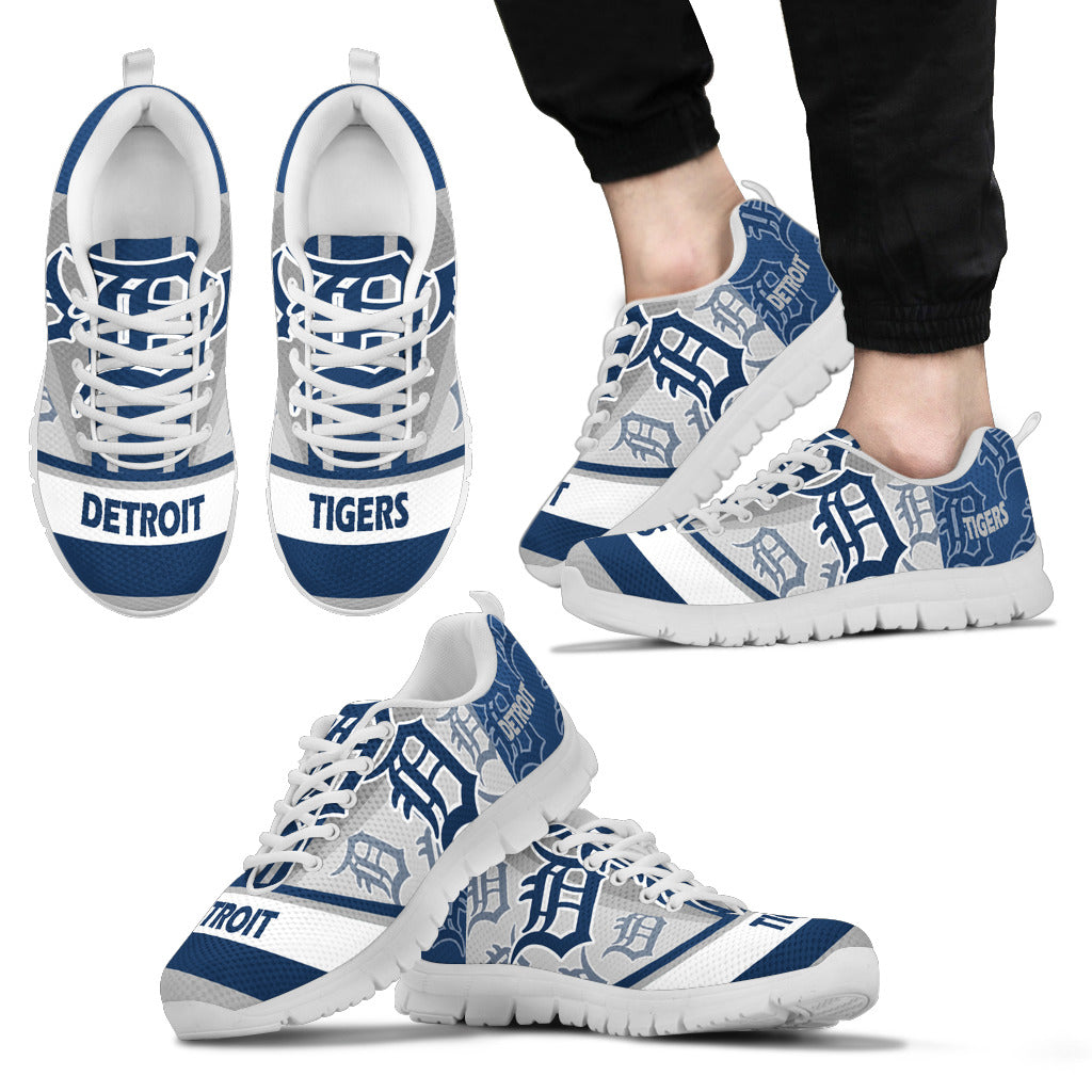 Three Impressing Point Of Logo Detroit Tigers Sneakers