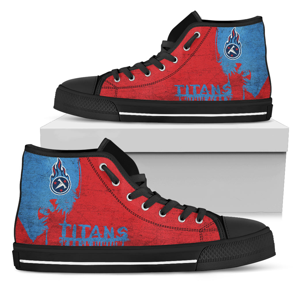 Alien Movie Tennessee Titans High Top Shoes