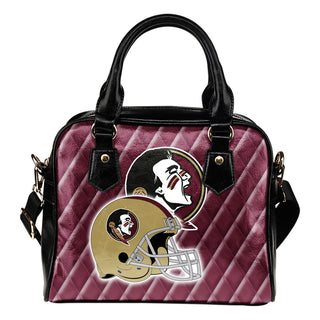 Couple Helmet Enchanting Logo Florida State Seminoles Shoulder Handbags