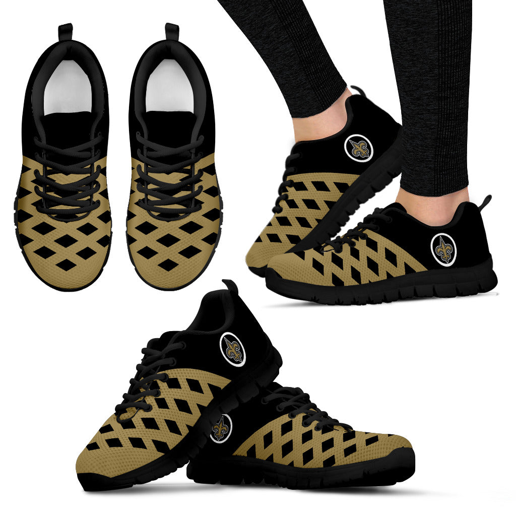 Two Colours Cross Line New Orleans Saints Sneakers
