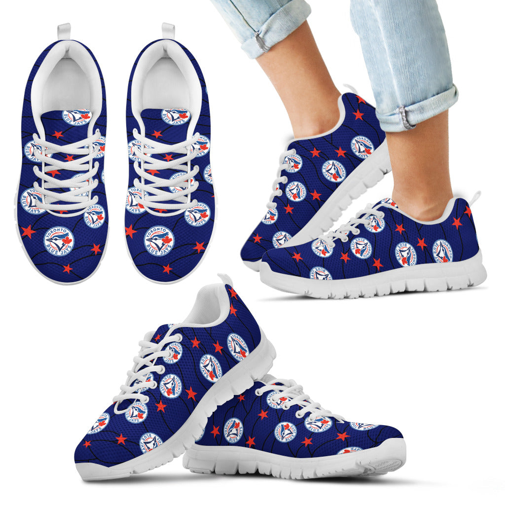 Star Twinkle Night Toronto Blue Jays Sneakers