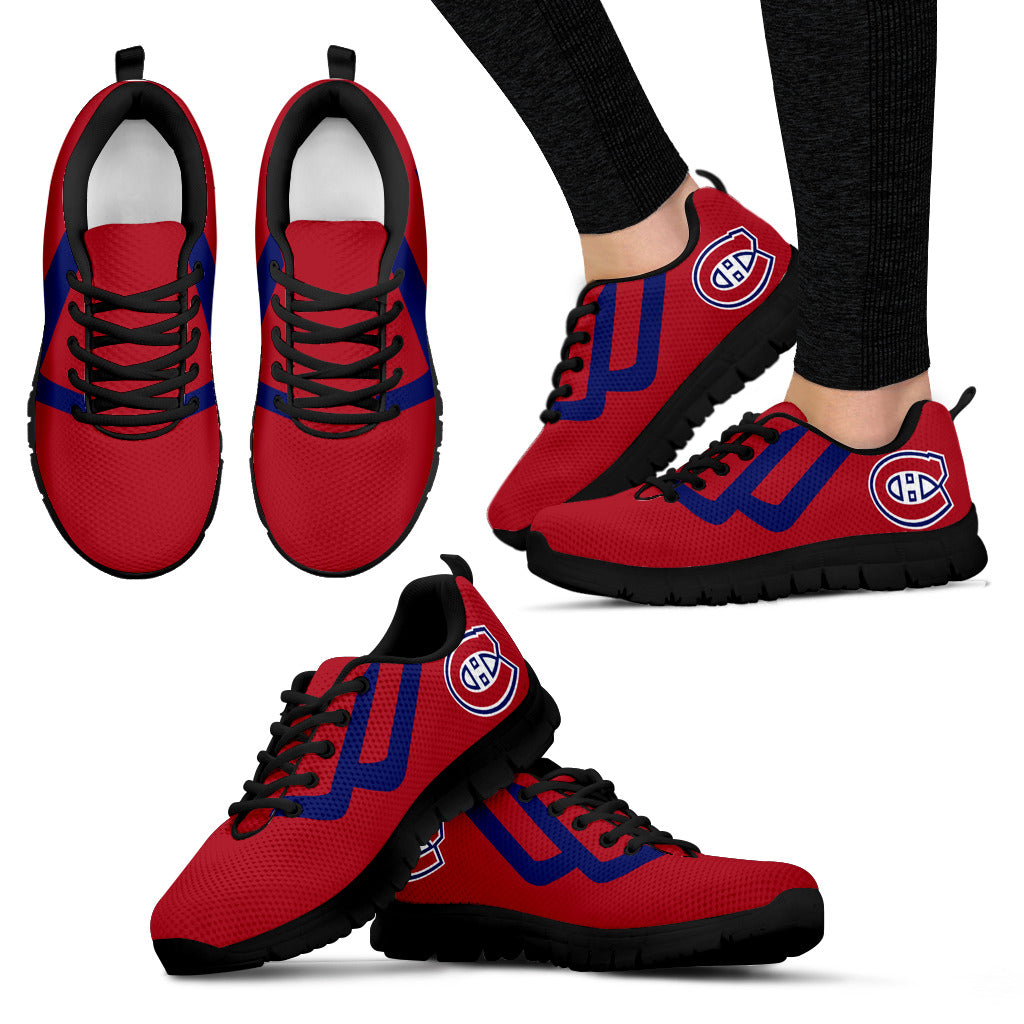 Line Bottom Straight Montreal Canadiens Sneakers