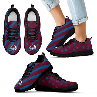 Splendid Star Mix Edge Fabulous Colorado Avalanche Sneakers