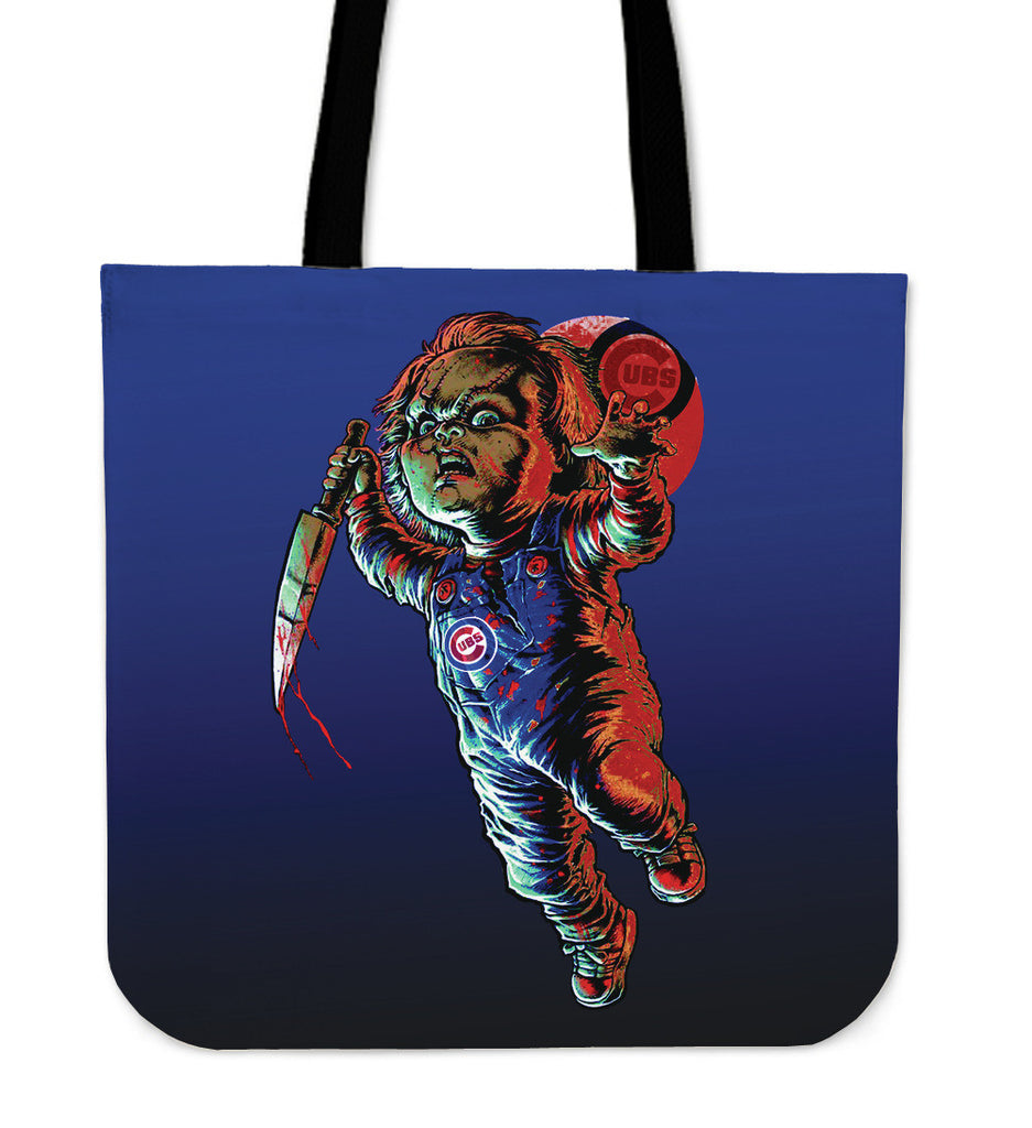 Chucky Chicago Cubs Tote Bag - Best Funny Store