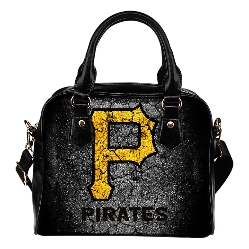 Wall Break Pittsburgh Pirates Shoulder Handbags Women Purse