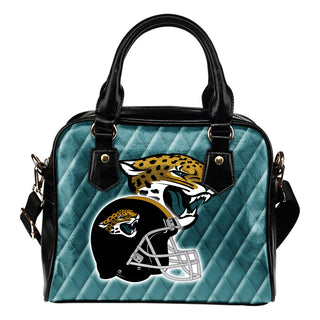 Couple Helmet Enchanting Logo Jacksonville Jaguars Shoulder Handbags