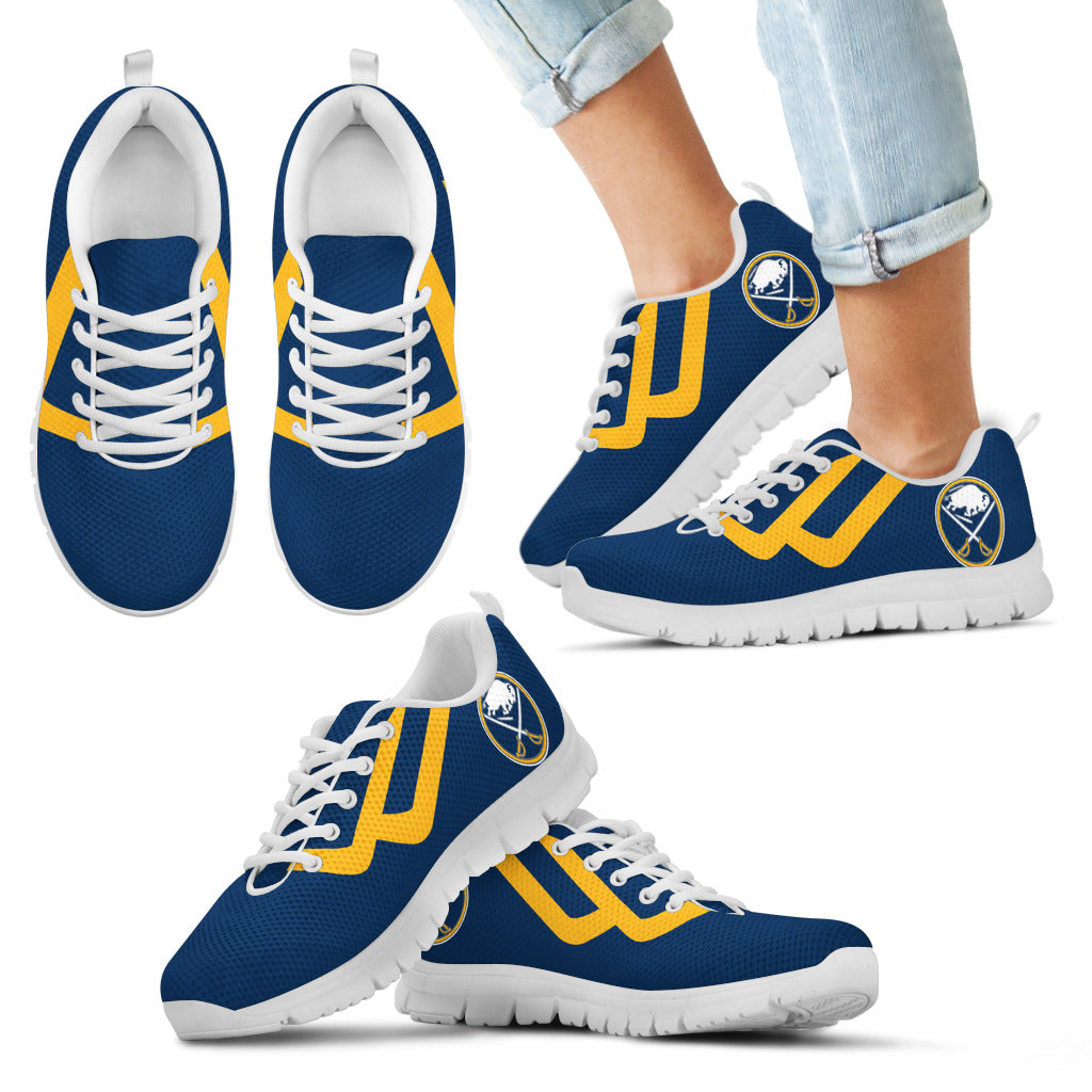 Line Bottom Straight Buffalo Sabres Sneakers