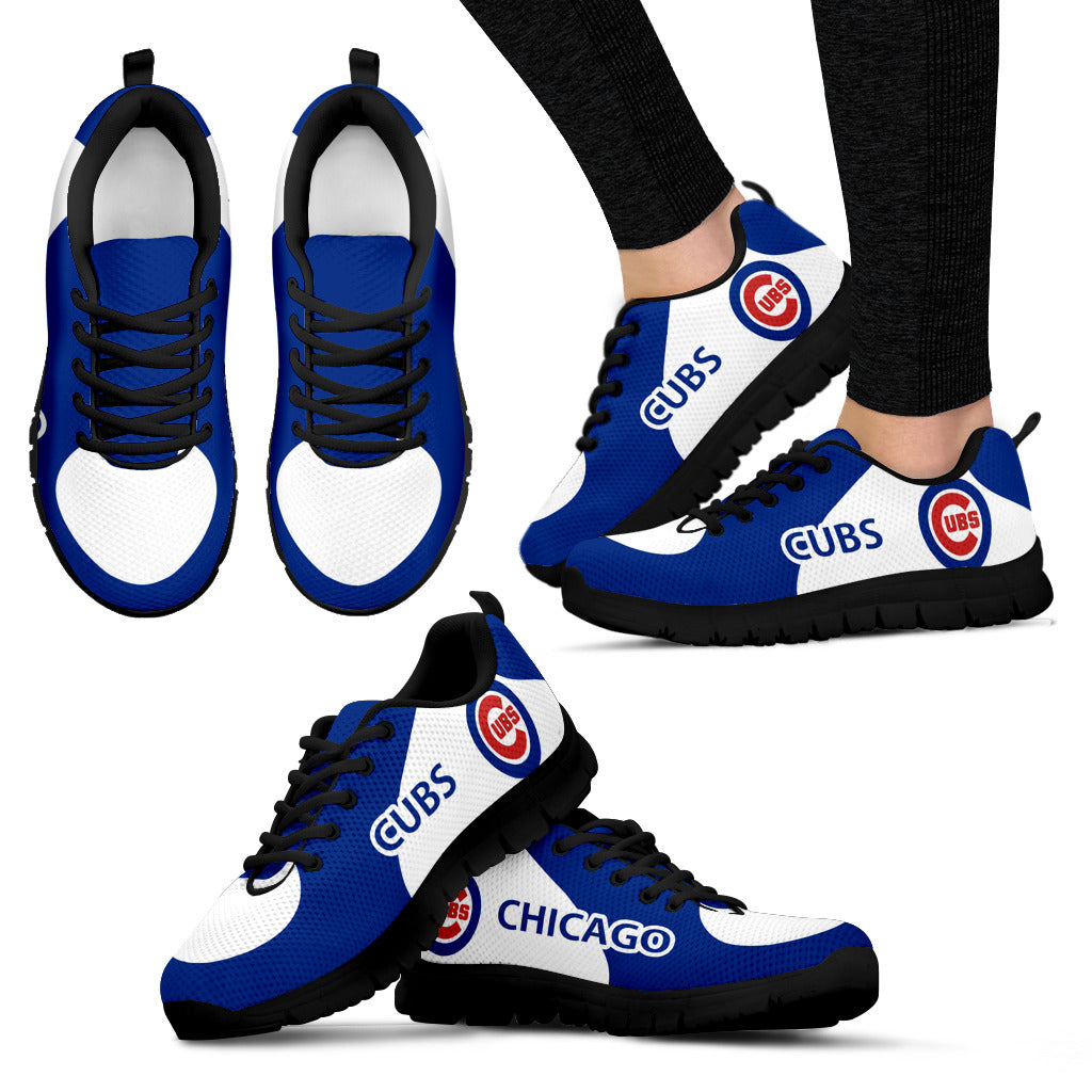Chicago Cubs Top Logo Sneakers