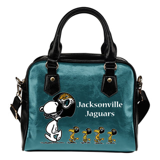 Lovely Animal Team Jacksonville Jaguars Shoulder Handbag