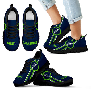 Fall Of Light Seattle Seahawks Sneakers