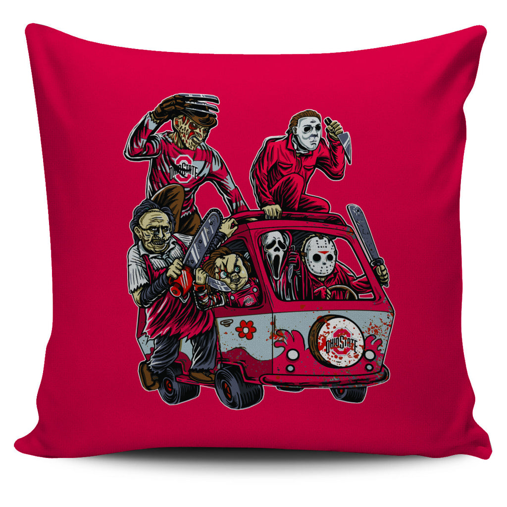 The Massacre Machine Ohio State Buckeyes Pillow Covers - Best Funny Store