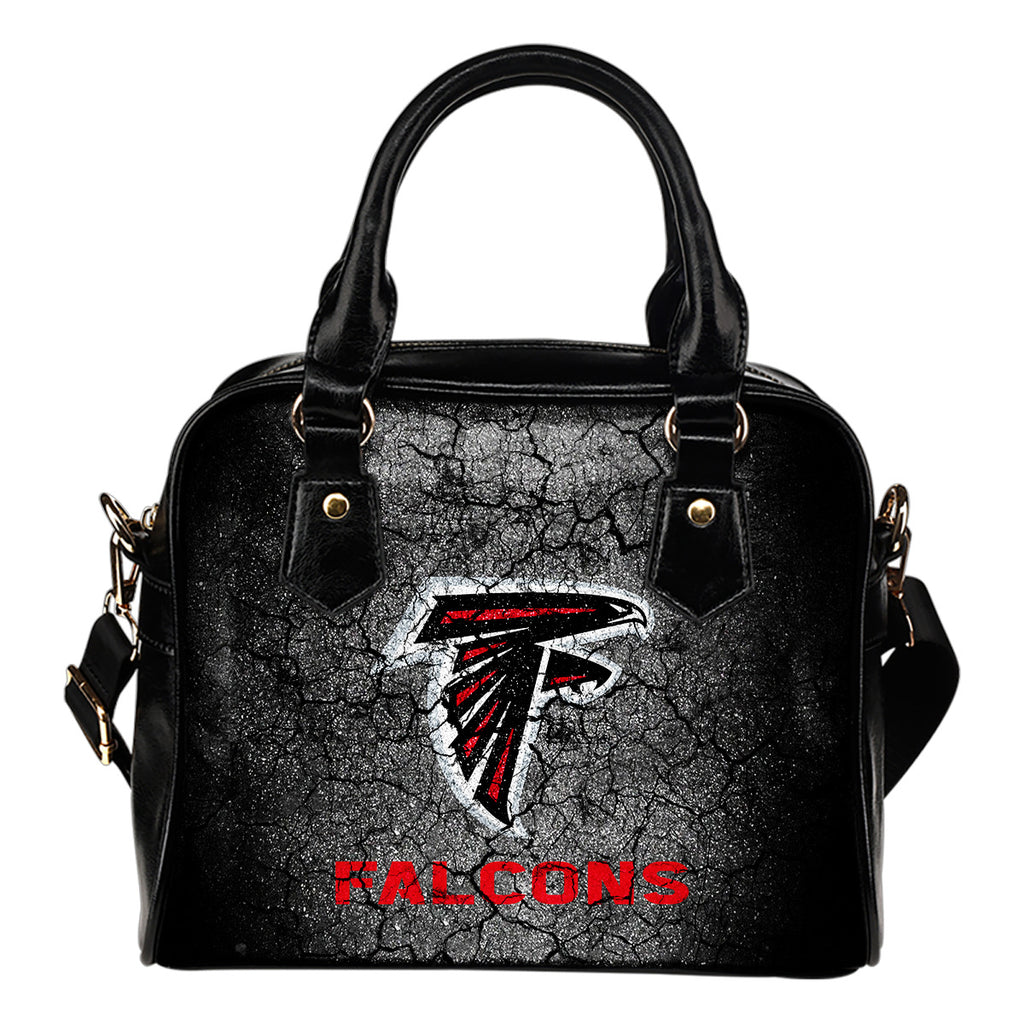 Wall Break Atlanta Falcons Shoulder Handbags Women Purse