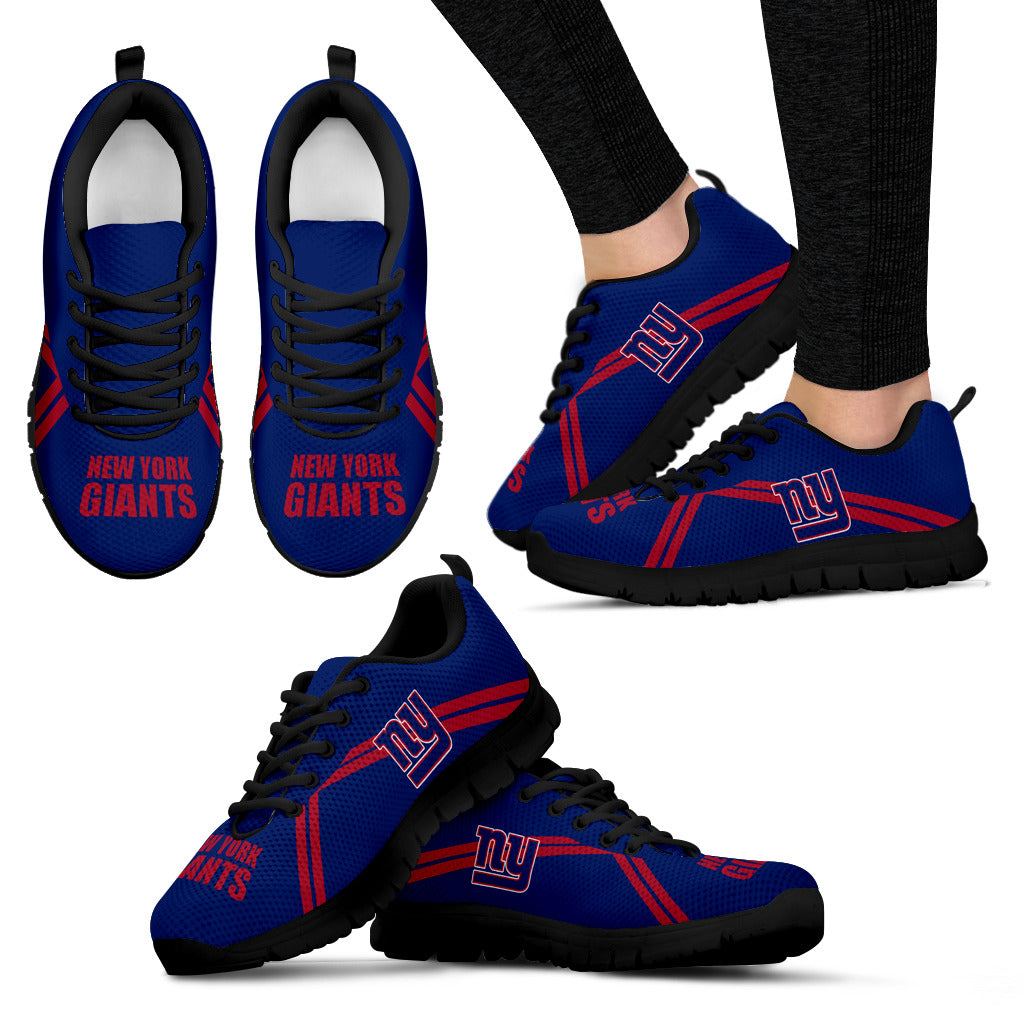 New York Giants Parallel Line Logo Sneakers