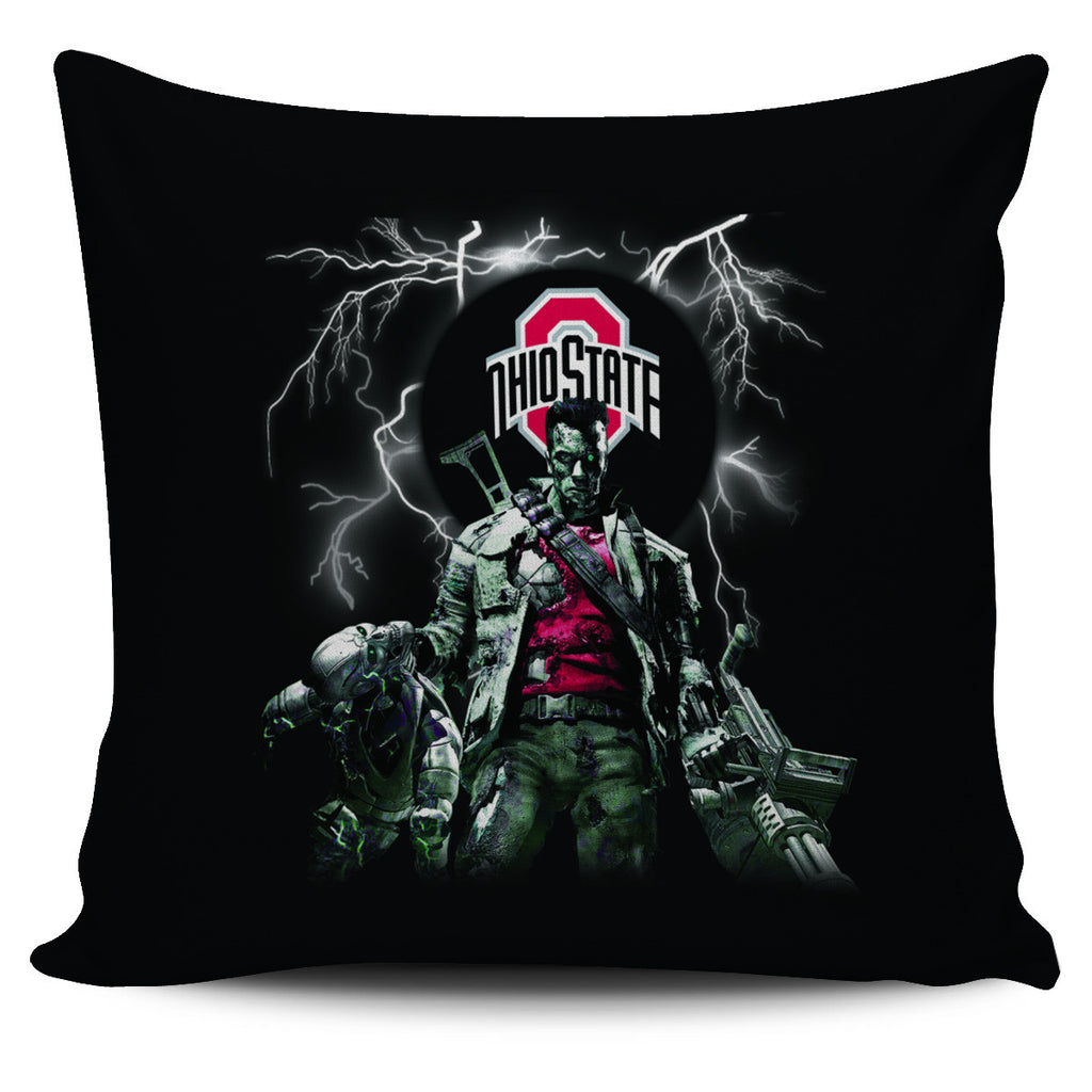 Guns Ohio State Buckeyes Pillow Covers - Best Funny Store
