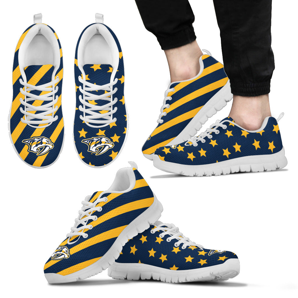 Splendid Star Mix Edge Fabulous Nashville Predators Sneakers