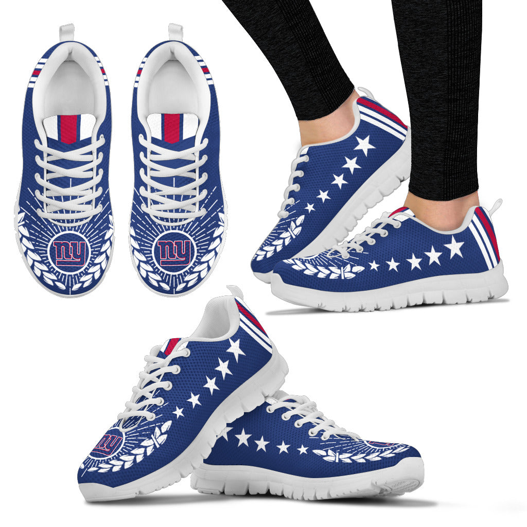 Line Of Stars Victory New York Giants Sneakers