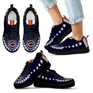 Line Of Stars Victory Chicago Bears Sneakers