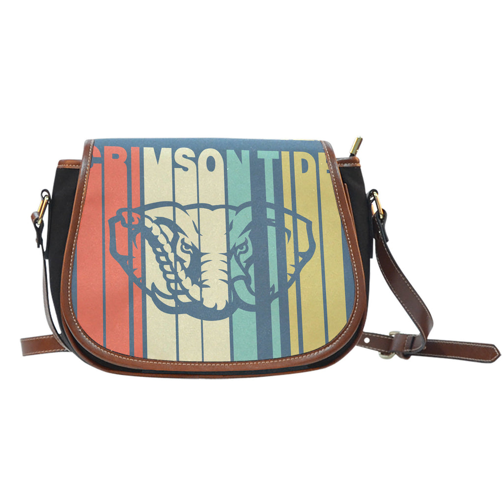 Vintage Style Alabama Crimson Tide Saddle Bags - Best Funny Store