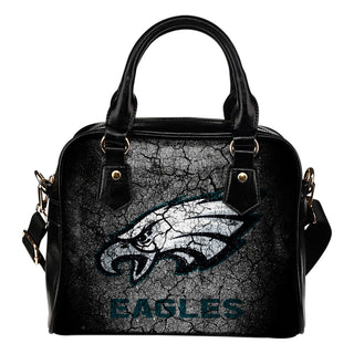 Wall Break Philadelphia Eagles Shoulder Handbags Women Purse