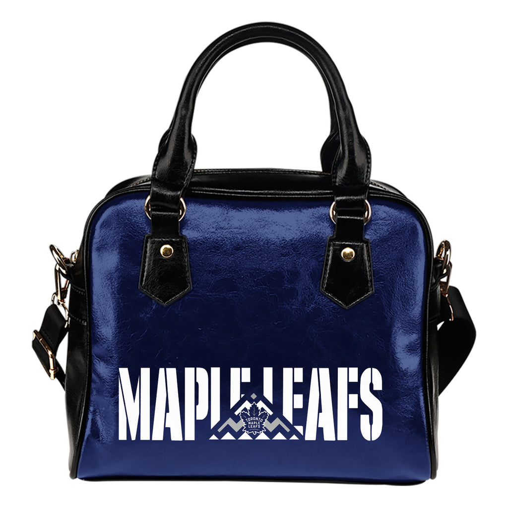 Toronto Maple Leafs Mass Triangle Shoulder Handbags