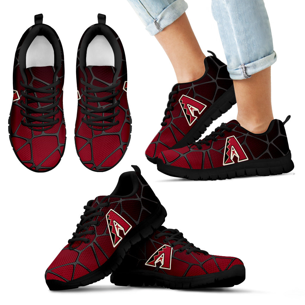 Colors Air Cushion Arizona Diamondbacks Gradient Sneakers
