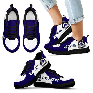Colorado Rockies Top Logo Sneakers