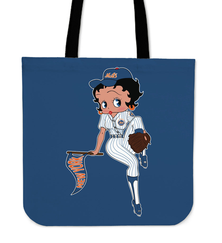 BB Baseball New York Mets Tote Bags