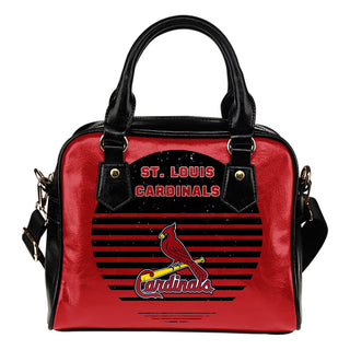 Back Fashion Round Charming St. Louis Cardinals Shoulder Handbags