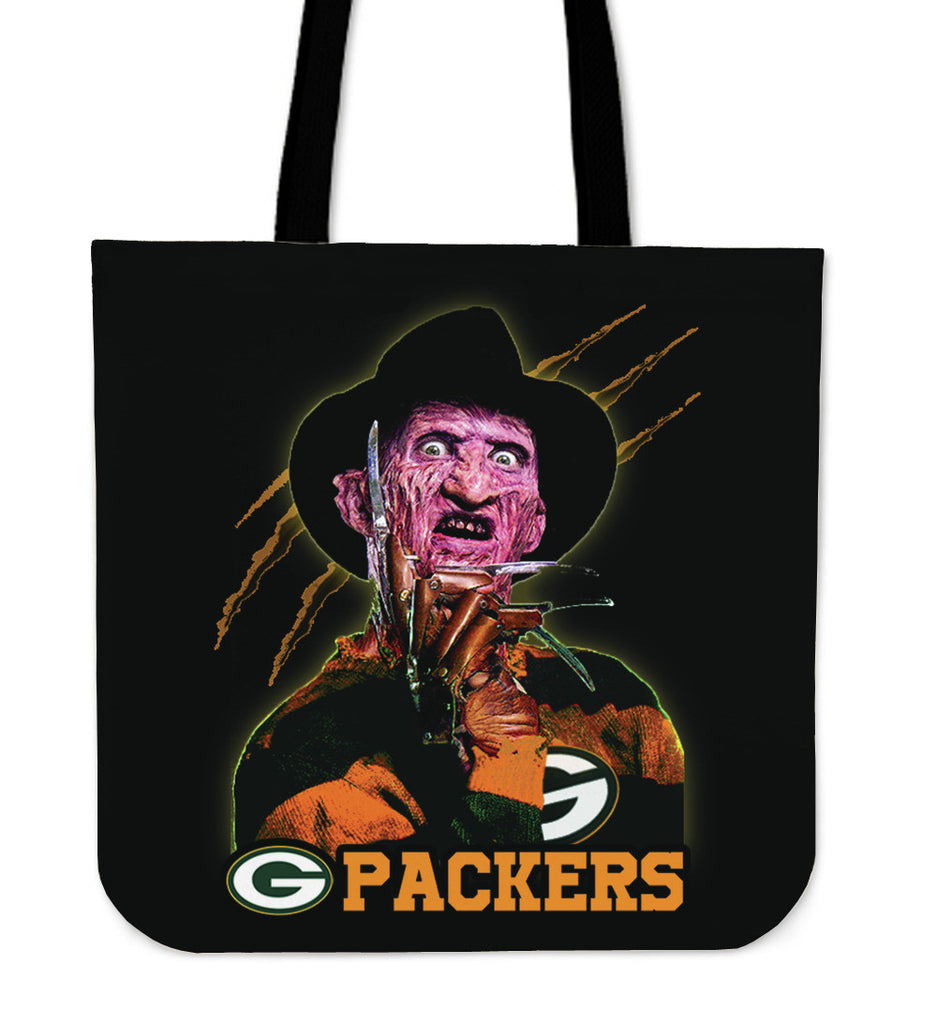 Green Bay Packers Freddy Tote Bag - Best Funny Store