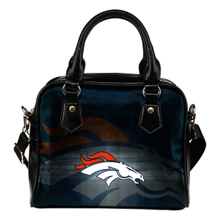 Denver Broncos Light Logo Shoulder Handbags Women Purse