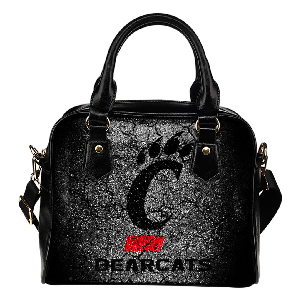 Wall Break Cincinnati Bearcats Shoulder Handbags Women Purse