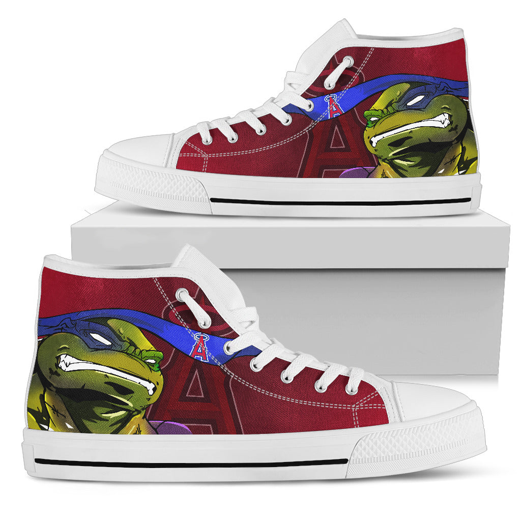 Turtle Los Angeles Angels Ninja High Top Shoes
