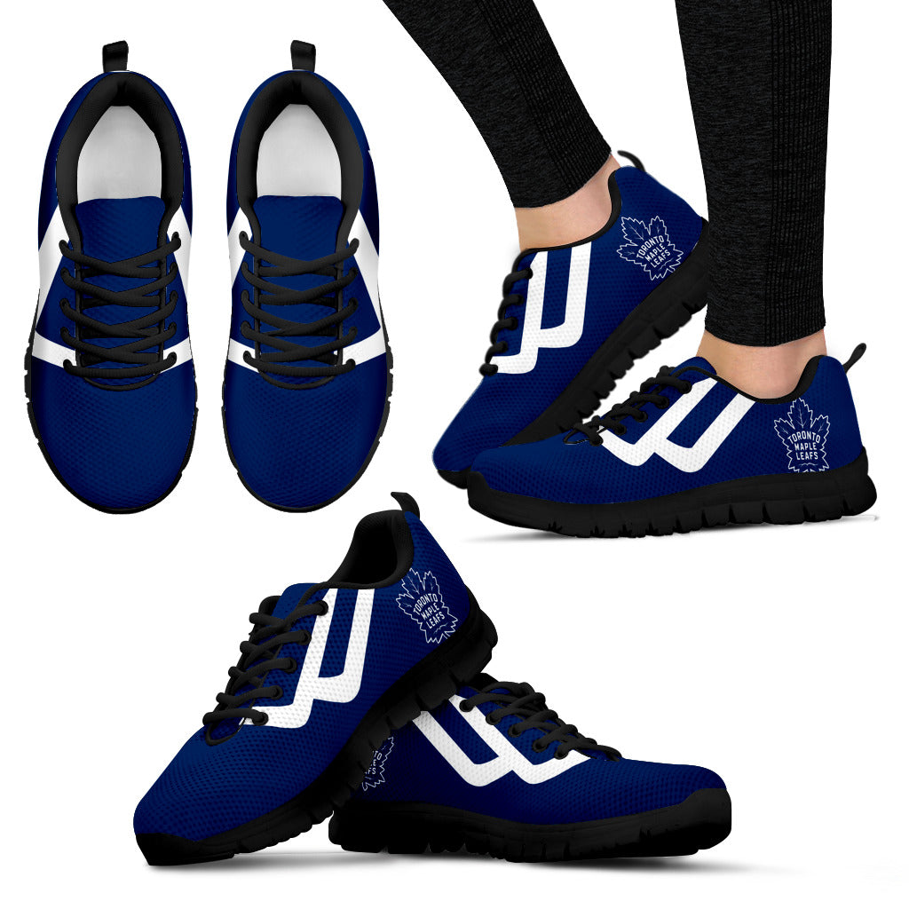 Line Bottom Straight Toronto Maple Leafs Sneakers