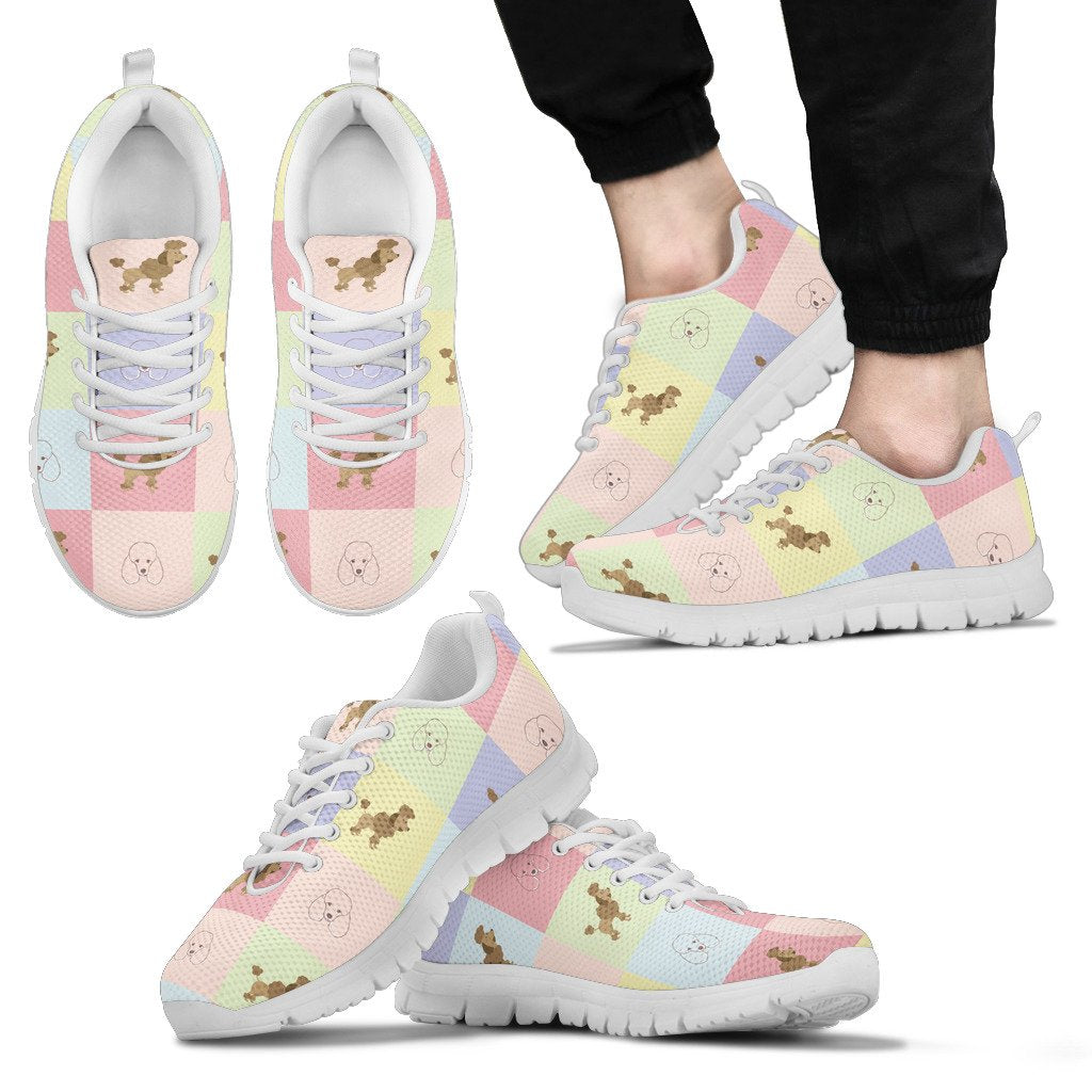 Pastel Poodle Sneakers For Poo Dog Lover