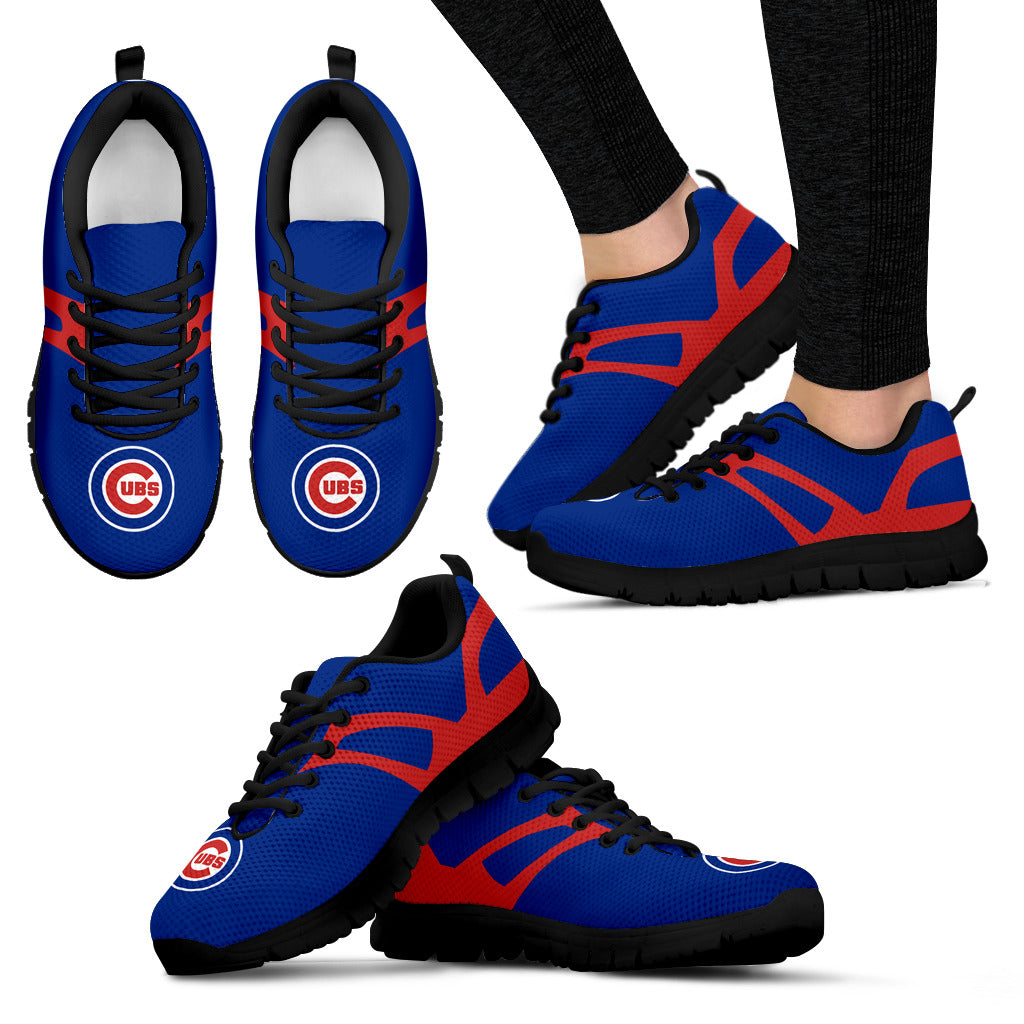 Line Amazing Bottom Chicago Cubs Sneakers
