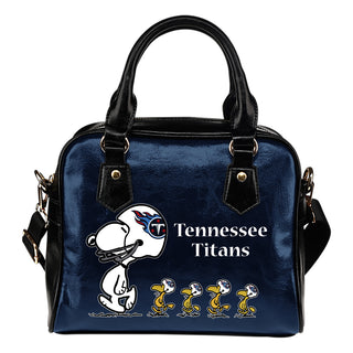 Lovely Animal Team Tennessee Titans Shoulder Handbag