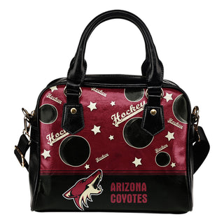 Personalized American Hockey Awesome Arizona Coyotes Shoulder Handbag