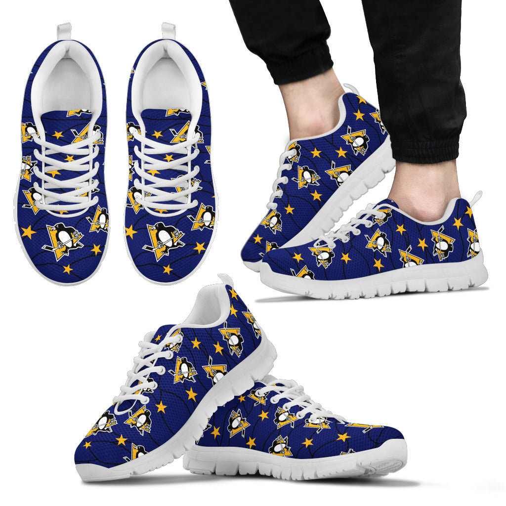 Star Twinkle Night Pittsburgh Penguins Sneakers