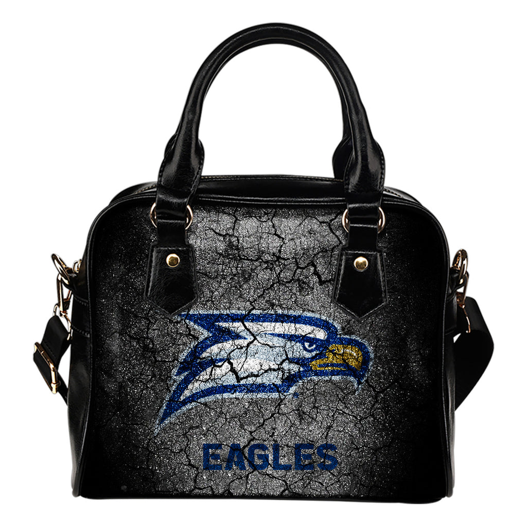 Wall Break Georgia Southern Eagles Shoulder Handbags Women Purse