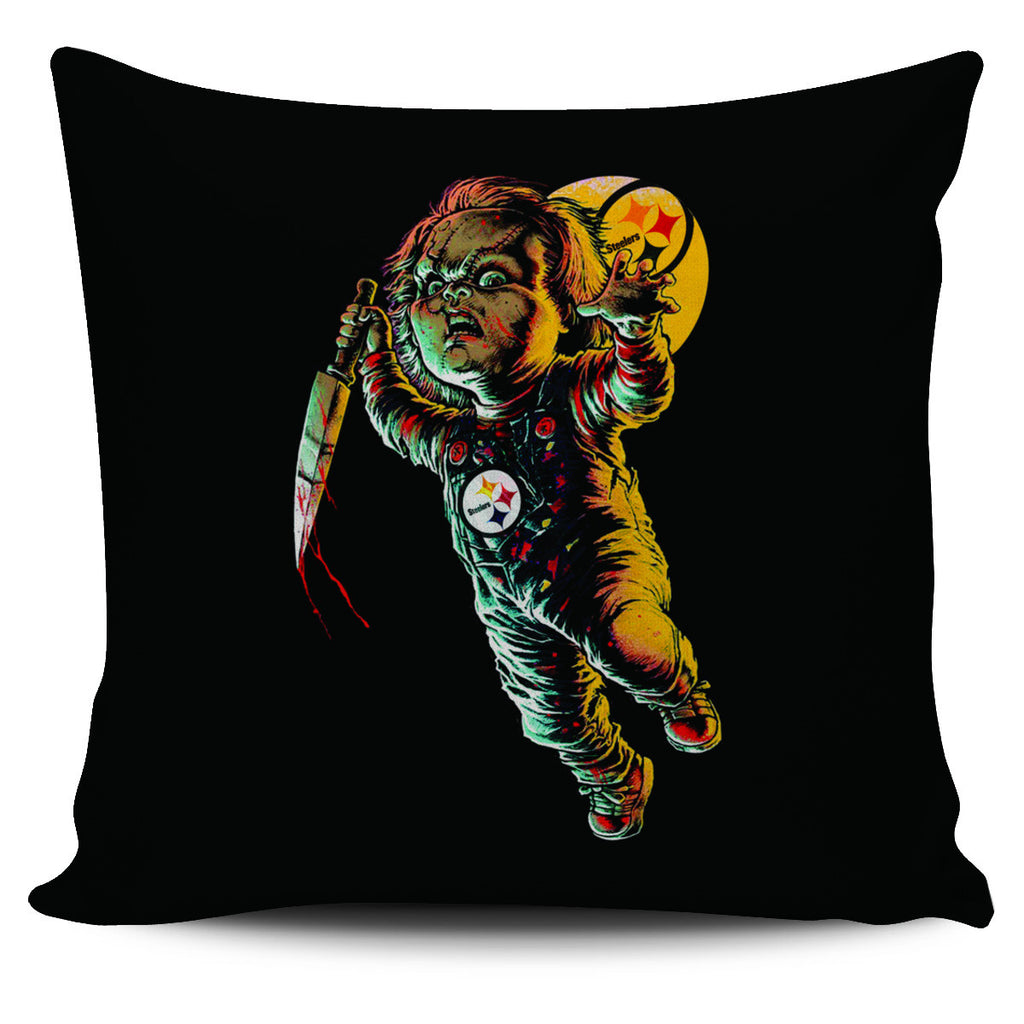 Chucky Pittsburgh Steelers Pillow Covers - Best Funny Store